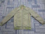 Mens Hotsales покрывает стильная куртка бомбардировщика Mens светло проложенная оптовая
