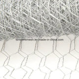 Горячее окунутое гальванизированное шестиугольное плетение мелкоячеистой сетки