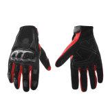 卸し売りオートバイの冷たい手袋のオートバイのライダーモーター手袋の赤いオートバイのモトクロスの手袋