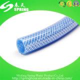 Tuyau de jardin en PVC flexible tressé en fibre