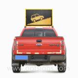 Custo - o caminhão eficaz/a mensagem variável montada veículo assina a placa do diodo emissor de luz Vms, placa dos Vms