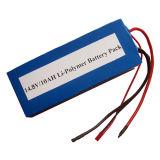10Ah de Pakken van de Batterij van het Polymeer van het Lithium 14.4V