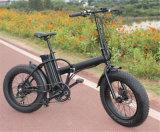 """bicicleta elétrica Foldable/dobrando-se Ebike de 500W 48V 20 """" do pneu gordo da bicicleta"""