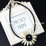 Collar de piedra de la gloria Sunflower/Natural Necklace/Fashion Tophus (XJW13376)