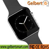 Alta calidad Bluetooth Smartwatch de Gelbert X6 para el teléfono móvil