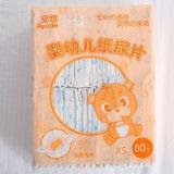 Usine changeante de garniture de couvre-tapis de bébé de couches-culottes de course de couche-culotte de bébé imperméable à l'eau en bambou remplaçable de huche avec la bande élastique