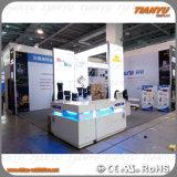 A feira profissional feita sob encomenda do carrinho da cabine da exposição indica o produto portátil e modular da cabine em Guangdong