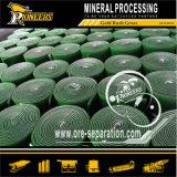 Pianta di lavaggio della lavata del minerale metallifero dell'oro del contenitore di chiusa della strumentazione di estrazione dell'oro