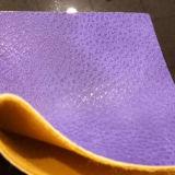 Farbe PU-Leder des Ton-zwei für Handtasche