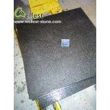 Il granito scuro di Grey G684 della Cina ha fiammeggiato il pavimento non tappezzato con il prezzo poco costoso