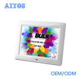 8 Zoll der Kategorie A LCD-Bildschirm-justierbare nachladbare Digital-Foto-Felder