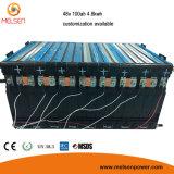 再充電可能な、カスタマイズされたサイズ72V 160ah LiFePO4電池のパック、リチウム48V 60V 40ah 50ah李イオン電池のパック