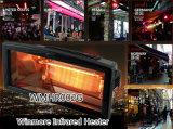 Calefator elétrico do calefator infravermelho de Winmore para a mostra ao ar livre