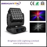 중국 제조 RGBW 이동하는 헤드 5*5 매트릭스 LED 빛