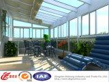 Pièce en verre de lumière du soleil de ménage en aluminium d'UPVC