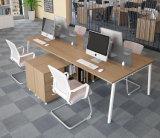 현대 가구 사무실 워크 스테이션을%s 서랍을%s 가진 2인용 사무실 책상