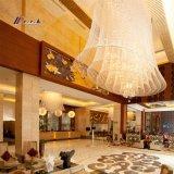 De Kroonluchter van het Kristal van het Project van het hotel K9 voor Decoratie
