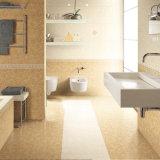 Azulejo decorativo de la pared del cuarto de baño del material de construcción 3D de de cerámica rústico