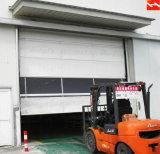 Porte en plastique de roulement de PVC de vitesse intérieure rapide d'action de la Chine pour l'atelier (HF-309)