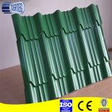Листы панели толя цинка строительного материала Corrugated