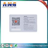 Замороженное поверхностное удостоверение личности PVC с аттестацией Ce/SGS