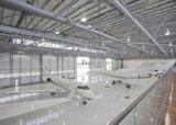 Marco del espacio para el hangar de los aviones