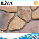 Panneau en pierre extérieur solide cultivé artificiel toscan de pierre d'inducteur de type pour la villa (YLD-90030)