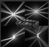 Blanc ou éclairage principal mobile d'effet de faisceau d'araignée de RGBW LED