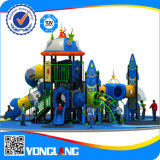 Yl-X146 Children Outdoor PET Board Rocket Castle Metal Slides und Rides Playground