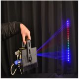 RGB Full Color 3000MW Mini Animation Programmable Laser Light Show 100kHz 90 - 240 V AC