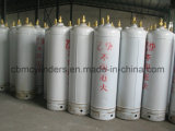 cilindri dell'acetilene 40L con le valvole & le protezioni