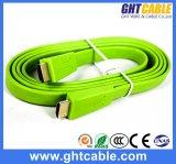 Cavo piano di alta qualità verde HDMI (F016)