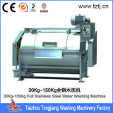 100kg Full Ss Laundry Machine de lavage industrielle pour tissu / linge / vêtement / Vêtements en tissu
