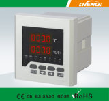 RS 485를 가진 Wsk-306 Panel Size 72*72mm LED Digital Display Industrial Usage Temperature와 Humidity Controller