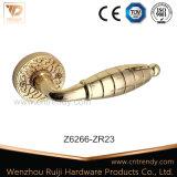 Wenzhou 프라이버시 아연 합금 관 래치 근엽 문 손잡이 (Z6265-ZR03)