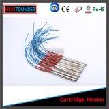 Calentador del cartucho del poder más elevado SUS304 con el tubo flexible