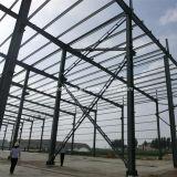 Galvanisiertes oder angestrichenes Rostschutzstahlkonstruktion-Gebäude