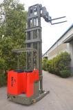 3-richting Elektrische Vorkheftruck die voor Smalle Doorgang wordt gebruikt