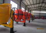 Miscelatore di cemento mobile diesel di disegno di capienza del timpano da 12.35 piedi cubi