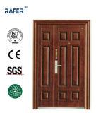 4つのパネルの母息子の鋼鉄ドア(RA-S151)