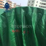 Bâche de protection imperméable à l'eau colorée de PVC de prix usine pour la couverture de toit