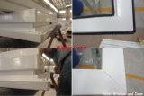 Double guichet coulissant glacé de vinyle d'UPVC/PVC