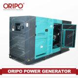 Tipo silencioso estupendo sistema del pabellón de generador diesel del gas natural