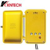 Do telefone industrial da borda da estrada do interfone de Kntech Knsp-04 telefone industrial do SIP