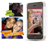 Selfie LED Cell Phone Case voor iPhone 6/6p/5/5se