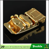 Alta qualità Gold Leopard Metal Belt Buckle a Lower Price, Automatic Buckle