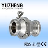 Valvola di ritenuta d'acciaio sanitaria di Yuzheng Dn80