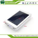 Banco de energia solar universal USB 10000mAh dual para celular