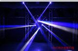 [10و] [لد] مصغّرة [رغبو] 4 في 1 [كر] [لد] حزمة موجية ضوء متحرّك رئيسيّة