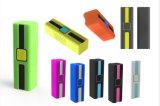 Cargador a granel 2600mAh del recorrido del USB del caucho del PVC de la venta al por mayor con capacidad plena